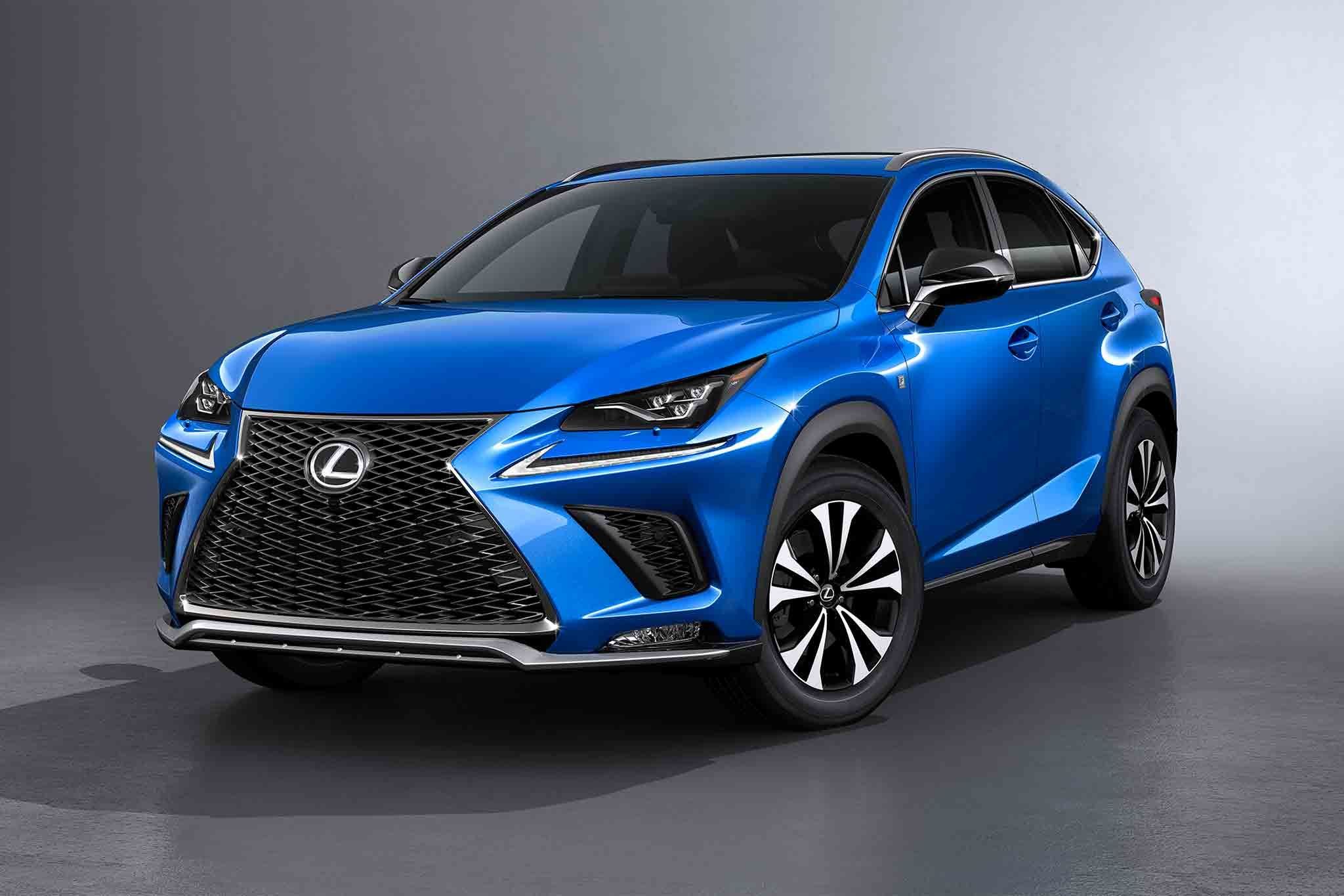 2018 Lexus NX Shows off New Design in Shanghai Lexus suv