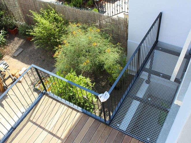 Terrasse bois et métal. www.atelierjoseph.fr