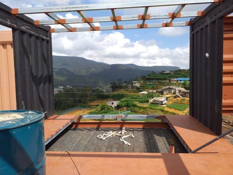 Nuwara Eliya Container Villa from Sri Lanka Living in a Container