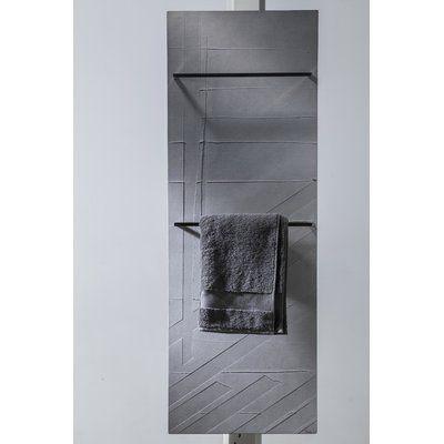 Cinier Stripes Wall Mounted Towel Warmer With Radiator Perigold Graystripedwalls Cinier Stripes Wall Mounted In 2020 Striped Walls Mounted Towel Warmer Towel Warmer
