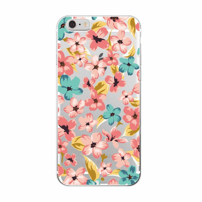 Aliexpress.com : Buy For iPhone 4 5 6 7 Plus SE 5C Floral Flowers Rose secret Cute Soft Transparent Silicon printed casey Cherry Blossom Trendy Fas from Reliable silicon suppliers on World Design Phone Accessories