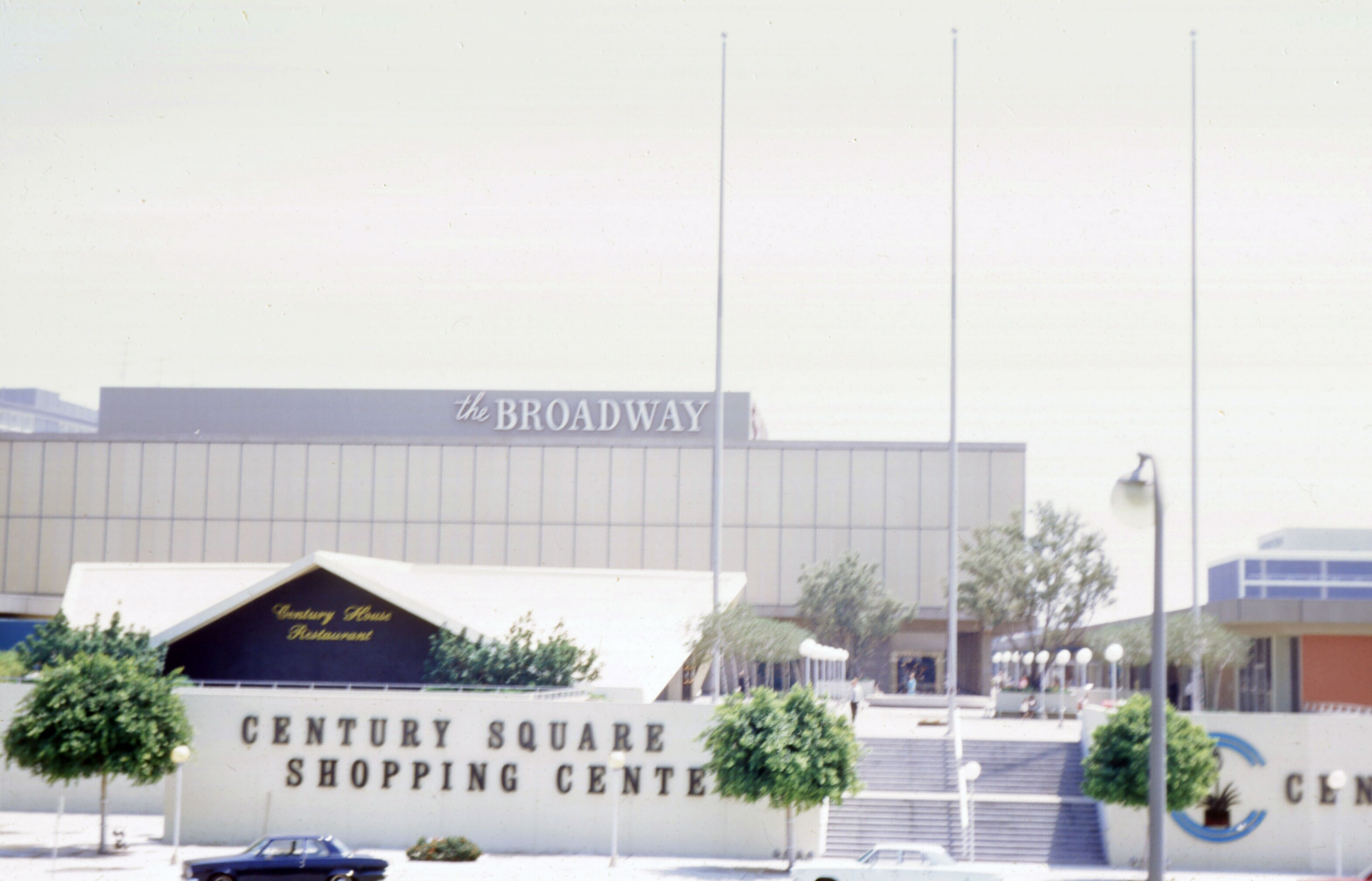 Century Square Shopping Center In 1968 Now Wesfield Century City Los Angeles Beaches Westfield Century City Century City