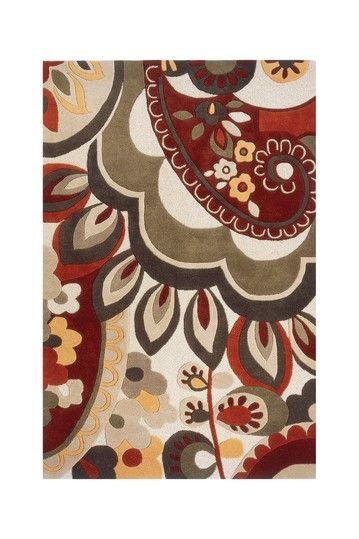 Meredith Wool Rug Multi By Floor Couture On Hautelook
