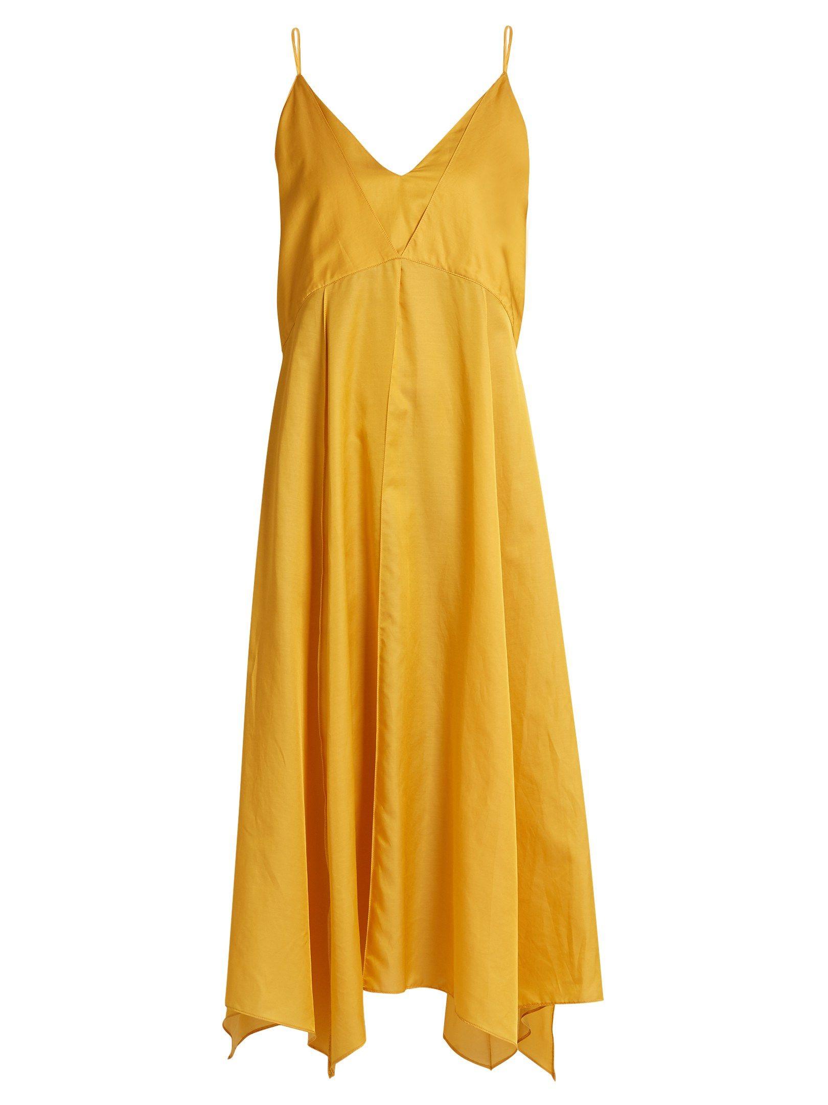 Yellow bridesmaidsu dresses from mustard to marigold brides