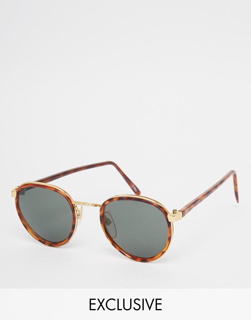 d7774c20913 Reclaimed Vintage Round Sunglasses