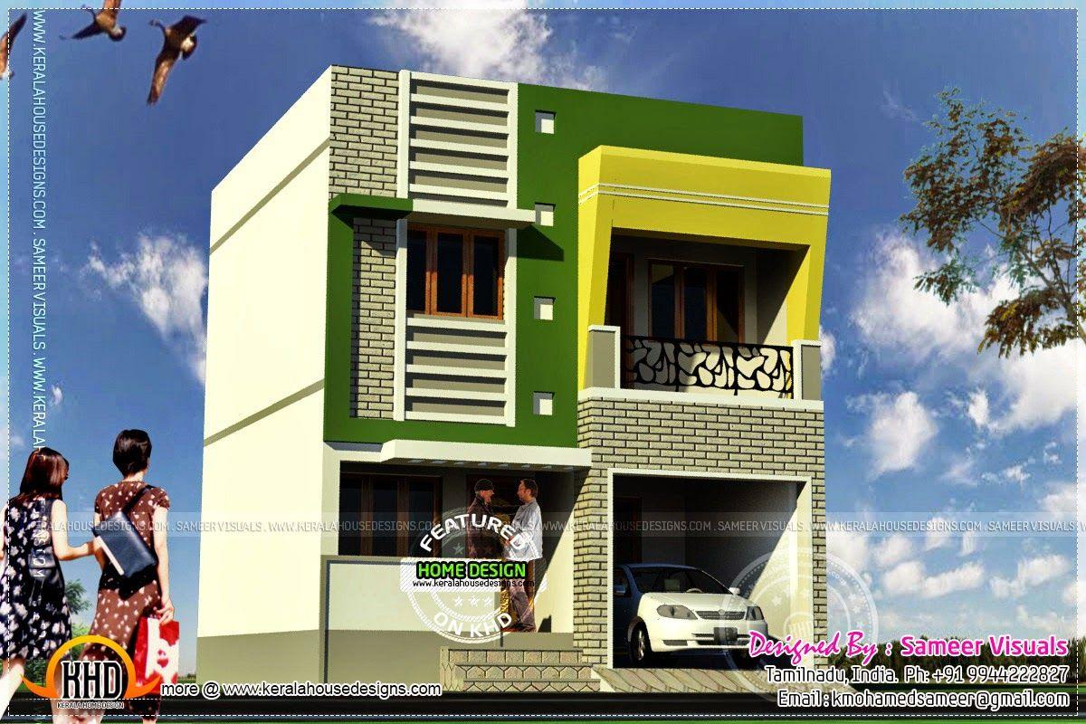 Tamilnadu house designs joy studio design gallery best for House plans tamilnadu style