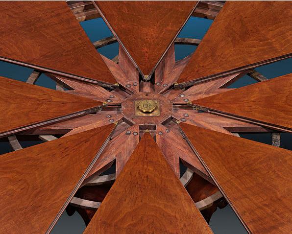 Antiques: Rare Regency Period Mahogany Expanding Table   EAT LOVE SAVOR