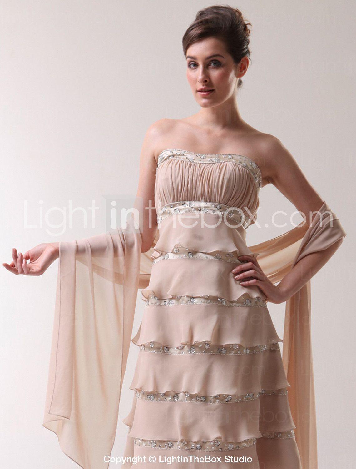 Chiffon Wedding/ Party/ Evening Shawl More Colors