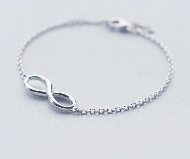 Sterling Infinity Symbol Bracelet Eternal Love Symbol Products