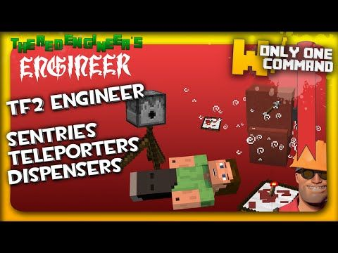 Minecraft - Team Fortress 2 Engineer's weapons with only one command