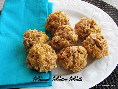 Peanut Butter Balls--I learned to make these in 2nd grade (from a Scholastic book order cookbook for kids) and I still make them...with variations. #peanutbutterballswithricekrispies