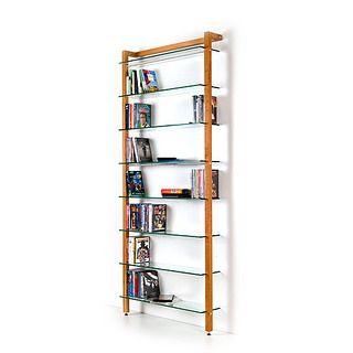Bücherregal Kirsche quadra dvd regal oder bücherregal aus massivholz kirschbaum dvd