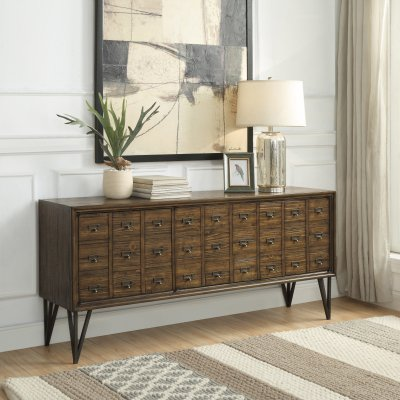 Coast To Oxford Apothecary Style Media Console