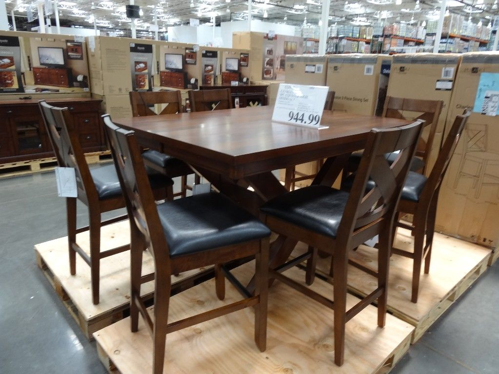 Counter Height Dining Table Set Costco   Can You Wind Up Needing A Dining  Set But You Have An Extremely Small Region To Plac