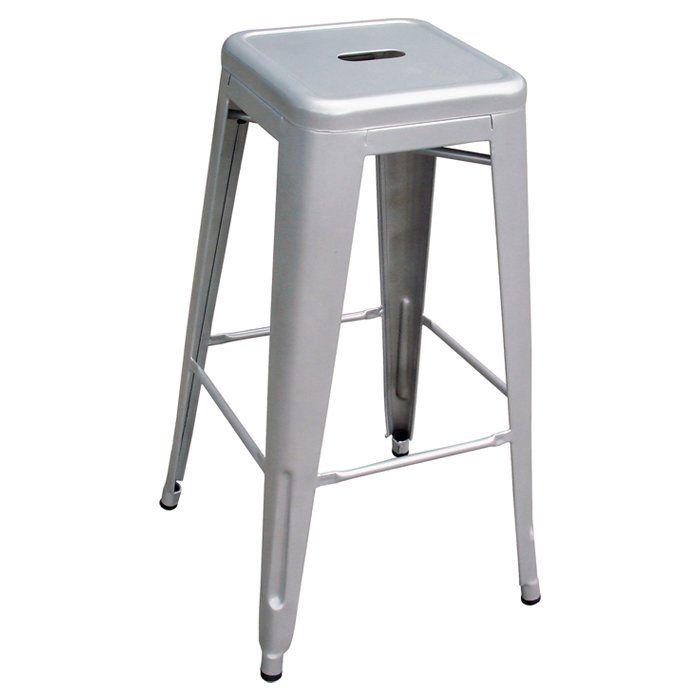 Image Is Loading Modern Kardashian Style Kong Chrome Silver Stainless Steel