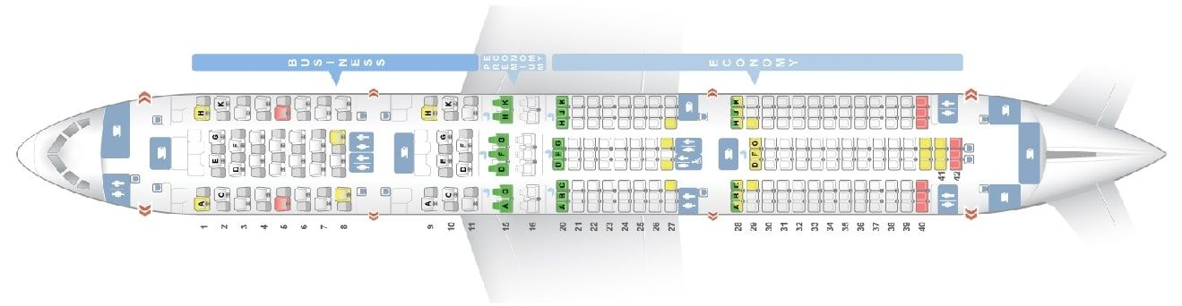 Seat Map And Seating Chart Ana Boeing 787 9 Dreamliner Layout 246 Seats Boeing 787 Malaysia Airlines Fleet
