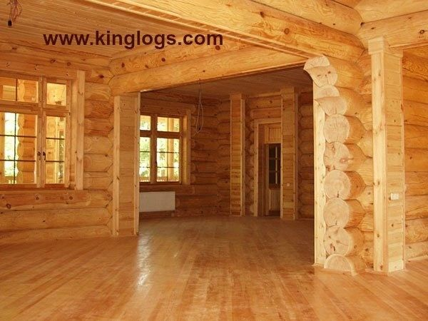 Superieur Log Cabin Home Shell Kit Logs 28ft X 32ft 1300SQ Ft | EBay