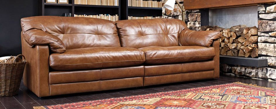 A Leather Sofa Range Baltimore From Dansk