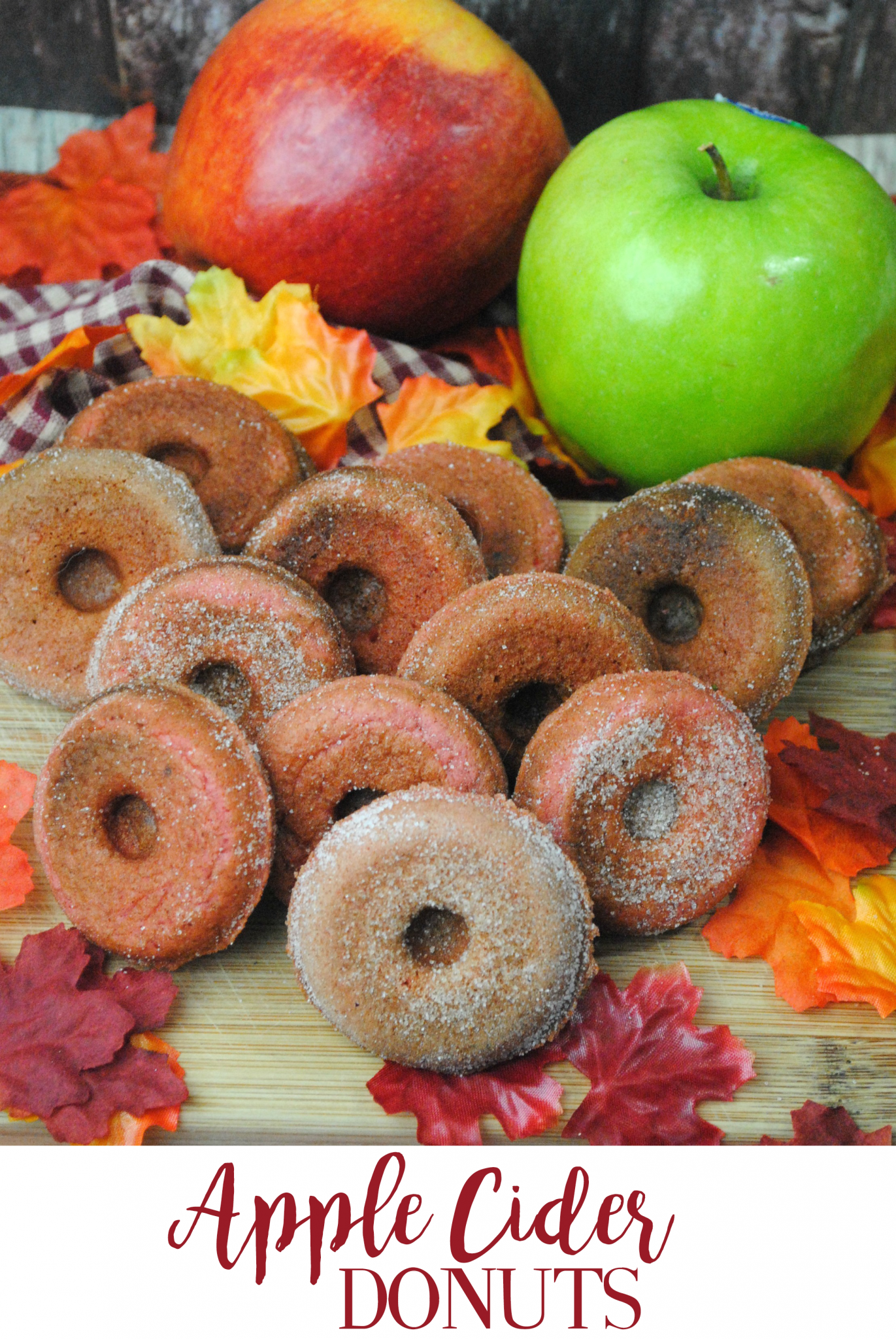 nice Recipe: Apple Cider Mini Donuts