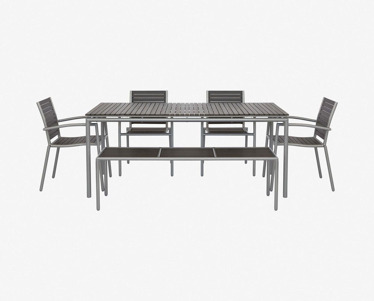 Ticari Rectangular Dining Table Tables Scandinavian Designs