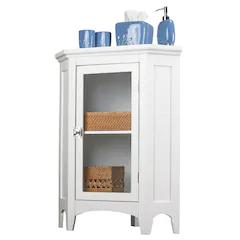 Elegant Home Fashions Corner Floor Cabinet Bathroom Floor Cabinets Bathroom Storage Cabinet Elegant Home Fashions