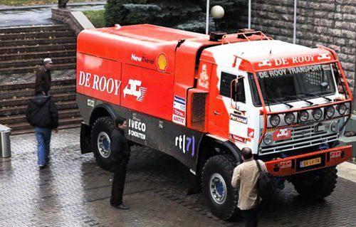 janderooy :: Onderwerp bekijken - Nieuwe truck bij team de Rooy