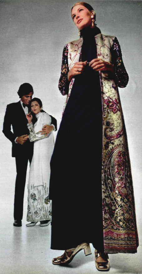 1969 Christian Dior by evening coat