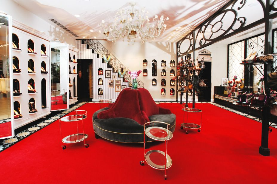 christian louboutin locations