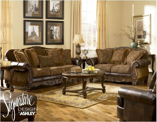 Pin By Home Furniture Plus Bedding On Home Style Antique Living Rooms Living Room Leather Leather Living Room Set
