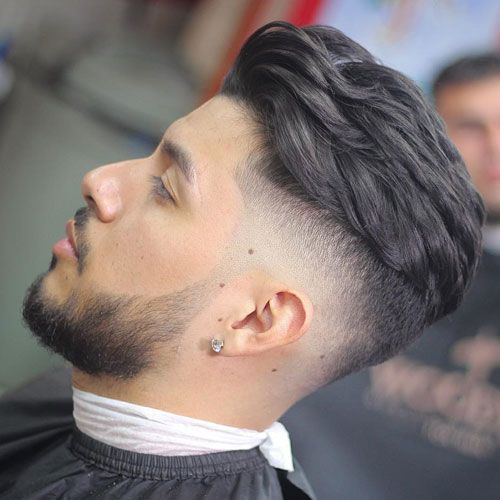 High Taper Fade With Textured Brush Back Men Haircut Styles Mexican Hairstyles Haircuts For Men