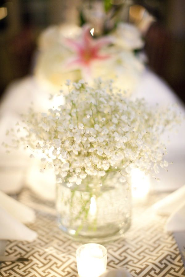 when I was looking at flower's for my wedding using just baby's breath was considered tacky and cheap and now it's a trend! gah....plus it's only been 7 months since my wedding. how the times have changed!
