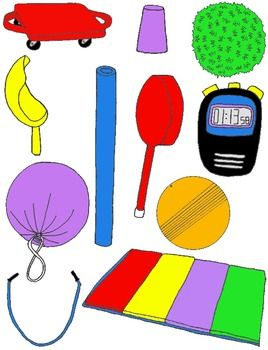 PE Clip Art Mega Pack Over 200 PNGs For Physical Education And Field