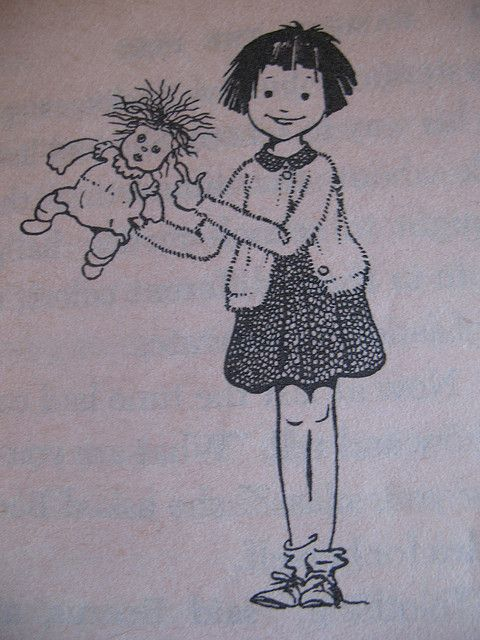 Illustration by Louis Darling from Ramona the Pest ...