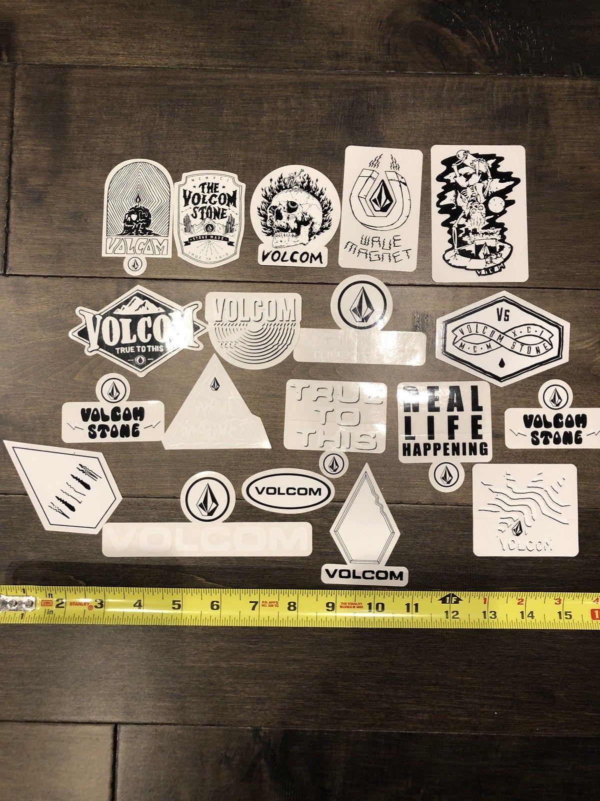 11 Volcom Stickers Skateboarding Decal Stickers Skateboarding Clothing Skate