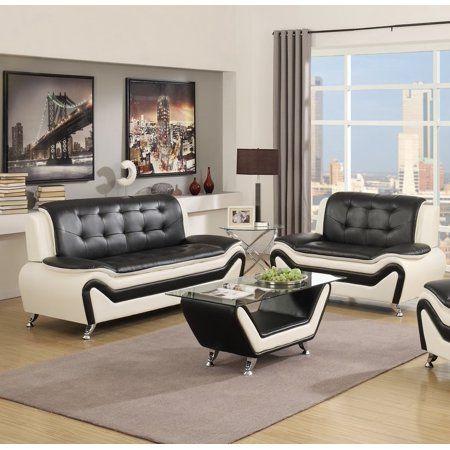 Home Living Room Sets 3 Piece Living Room Set Leather Sofa