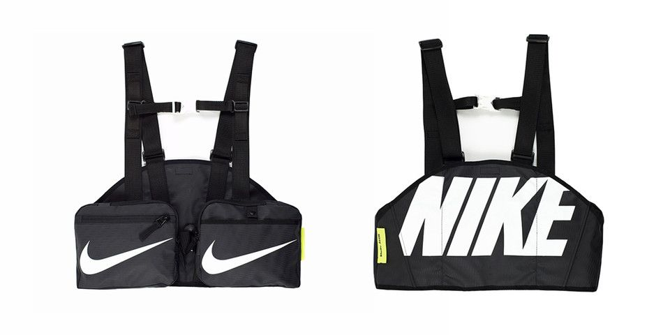 b3f89545860437 ALCH Crafts a Gilet out of a Nike Duffle Bag  Branding heavy.