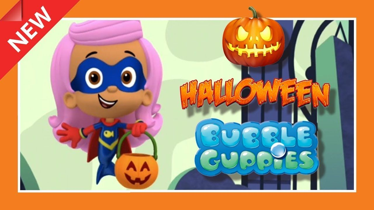 Bubble Guppies: Halloween Party - Nick Jr. | GAMES CHANNEL for ALL ...