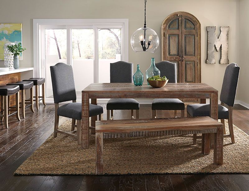 Hampton Rectangle Dining Table Available From The Tin Roof In Spokane WA