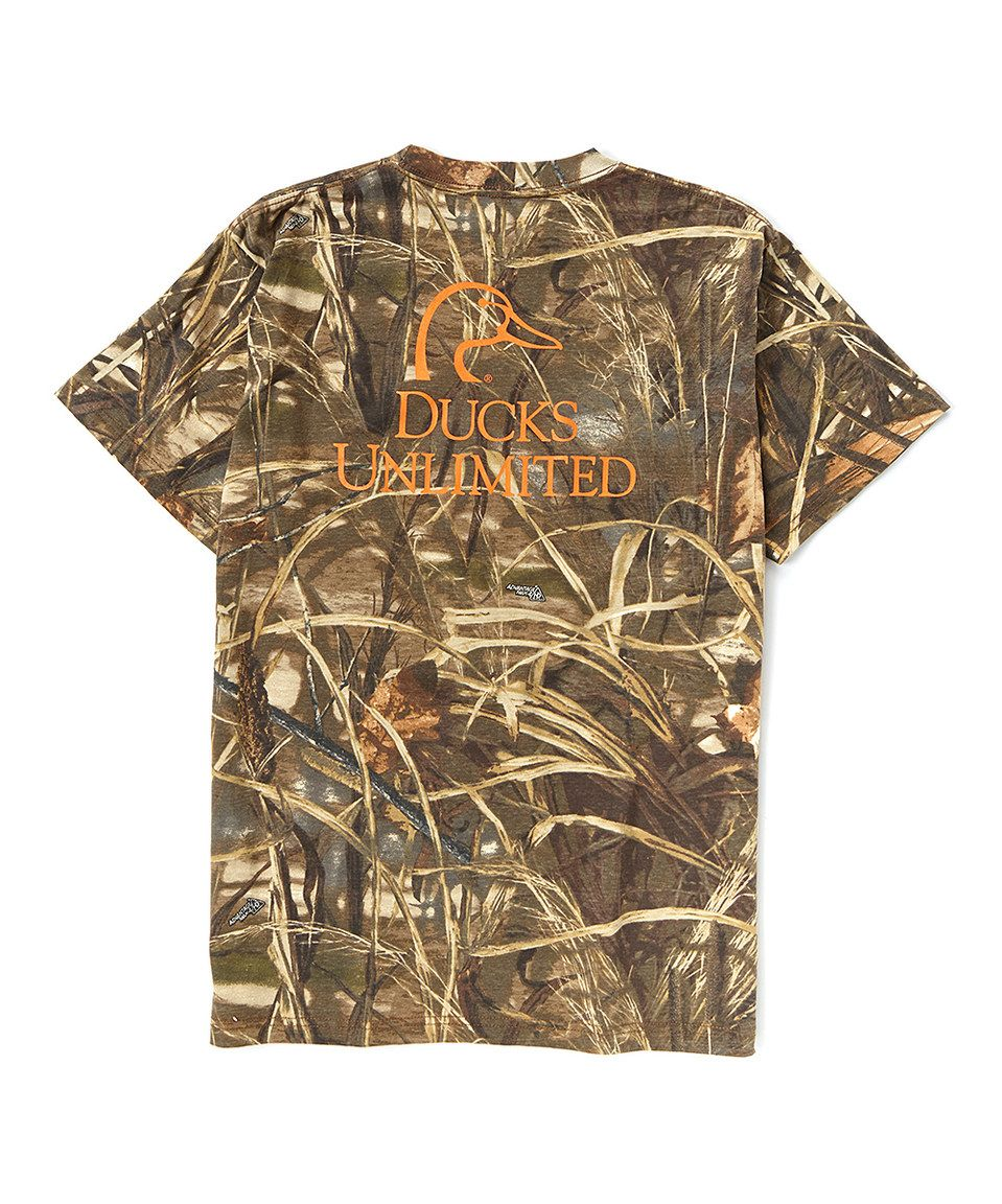 This Max 4 Camo Logo Duet Tee by Ducks Unlimited is ...