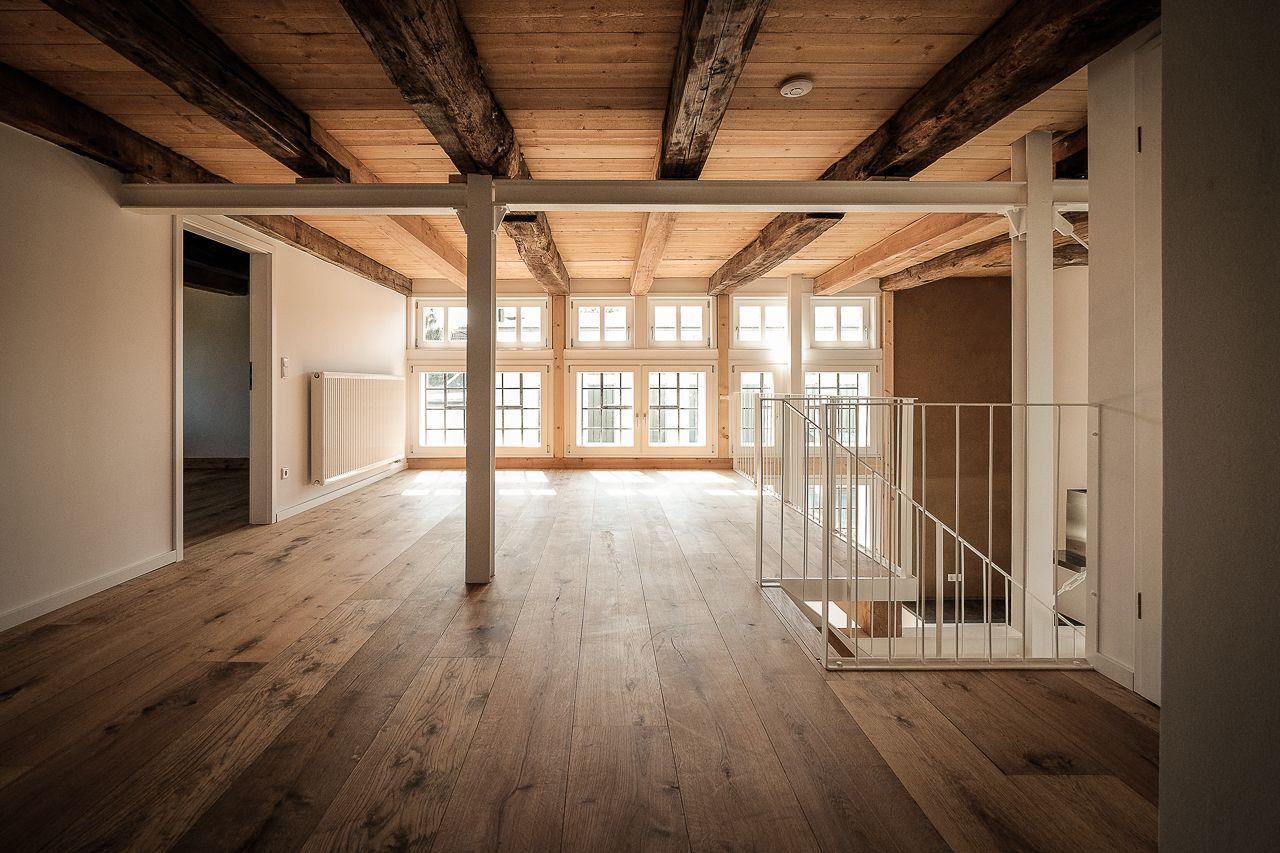 Gröne Architektur Umbau Einer Fachwerk Scheune