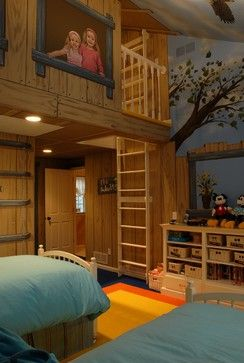 Tree House Bedroom Eclectic Kids Minneapolis Gabberts