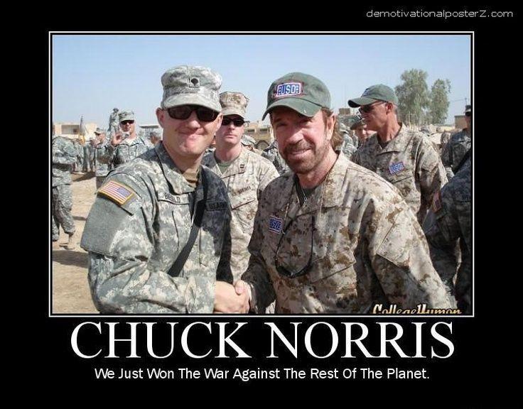 Chuck Norris Military Humor Army Humor Chuck Norris Jokes