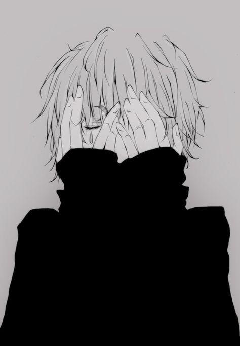 sad boy anime in 2018 pinterest anime anime art and anime guys