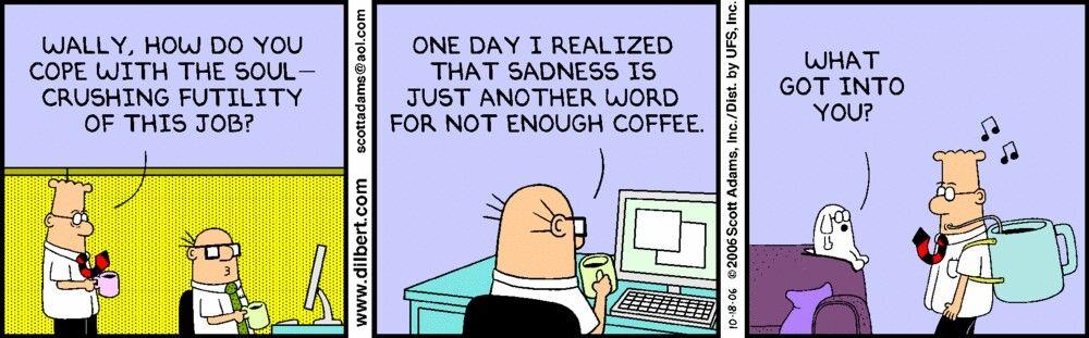 Dilbert creator has found a brilliant way to trick himself ... |Dilbert Break