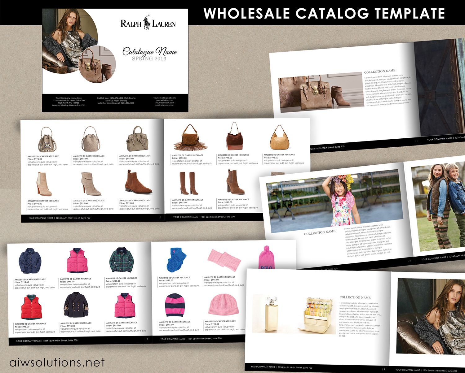 wholesale catalog template product catalog indesign catalogue