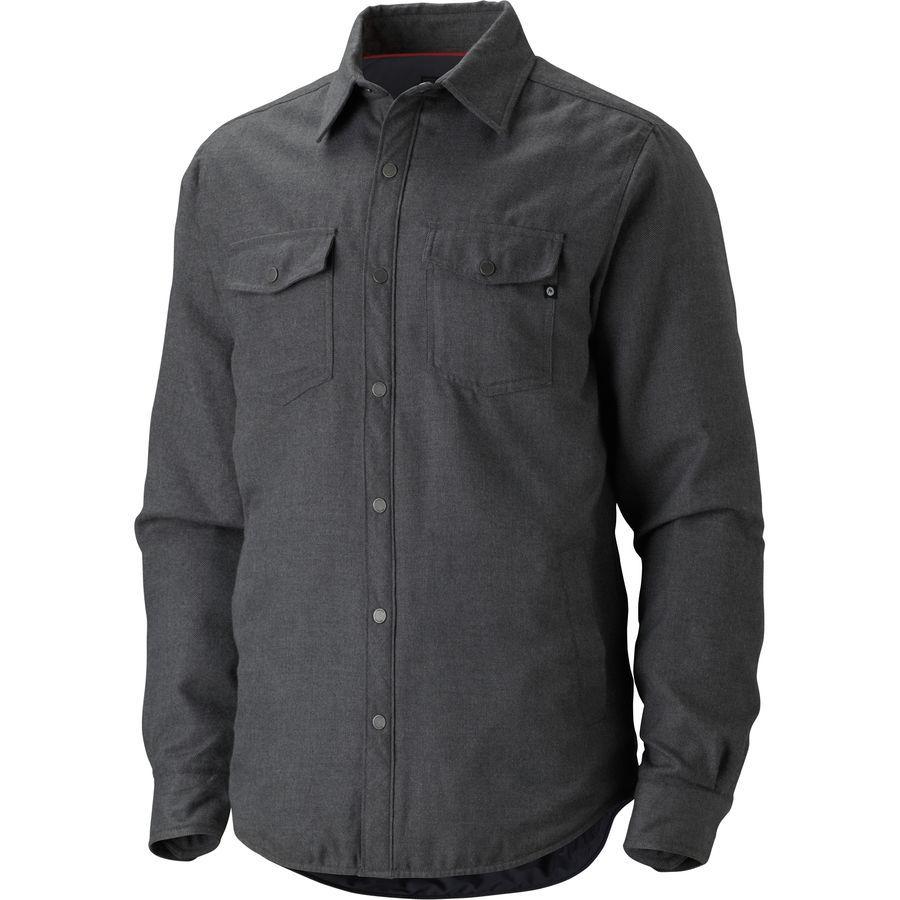 Flannel shirt black  Marmot Arches Insulated Flannel Shirt Jacket  Menus  Flannels
