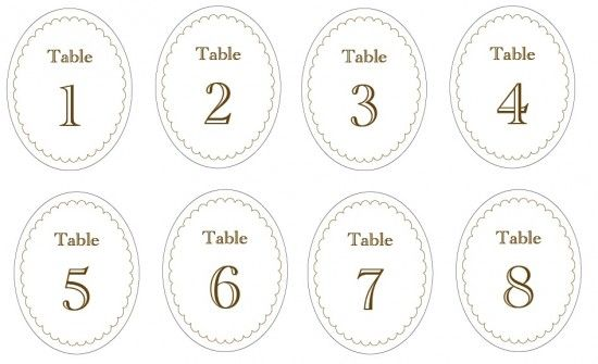 78 Free Printable Labels and Beautiful Tags Printables \ paper - numbers templates free
