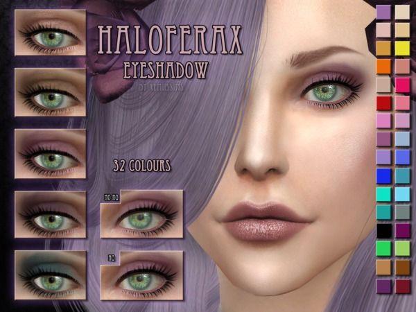 Haloferax eyeshadow by RemusSirion at TSR via Sims 4 Updates