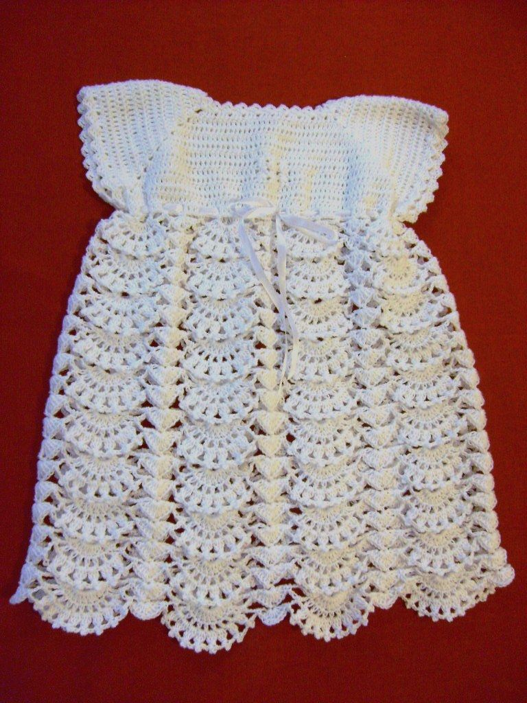 ropa de bebe en crochet vestido a crochet para beb de 3 a 6 meses tejido crochet. Black Bedroom Furniture Sets. Home Design Ideas