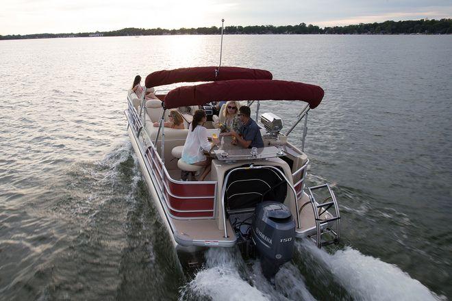 Aqua Patio AP 240 CB - Aqua Patio Boats